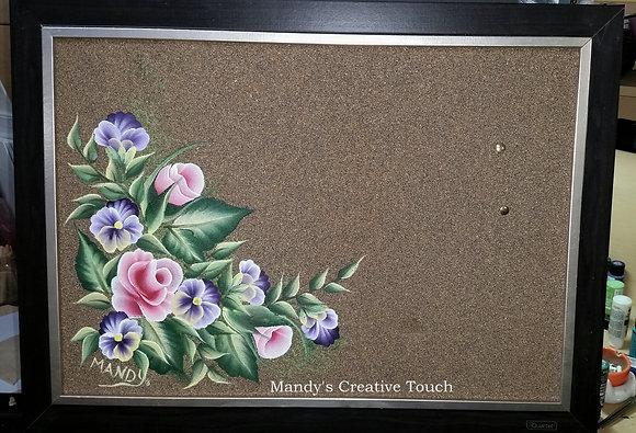 Garden Cork Board