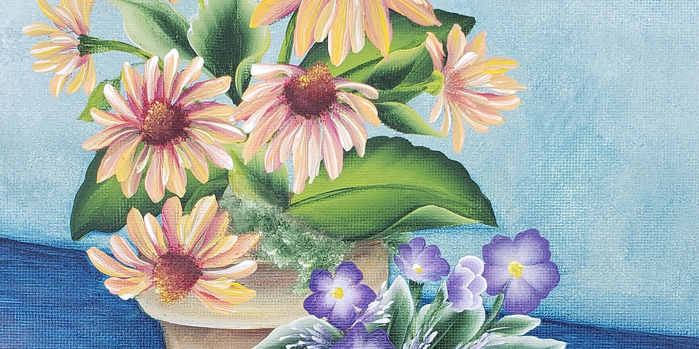Floral Pots Design
