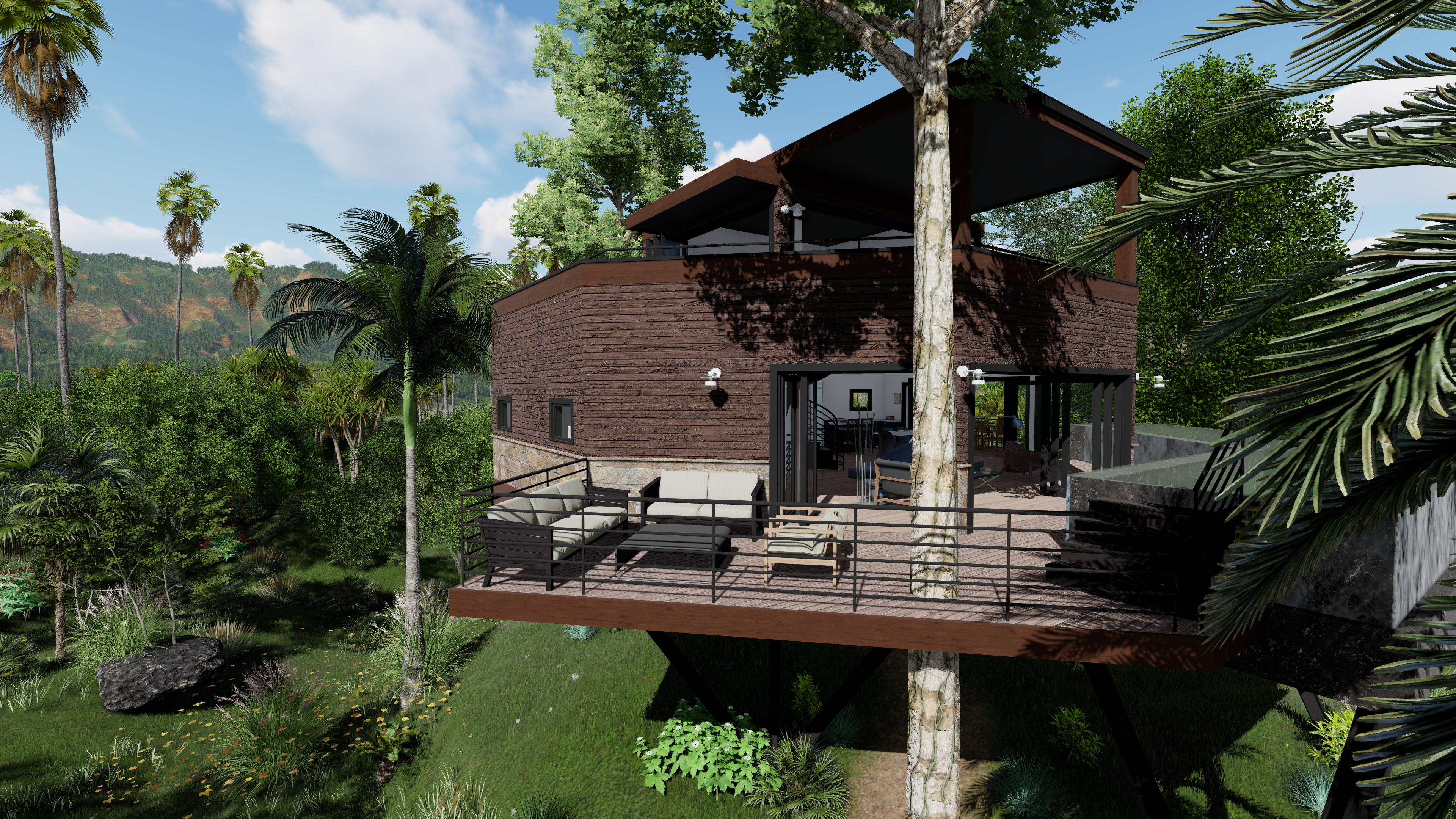 Treehouse_Exterior Render 12