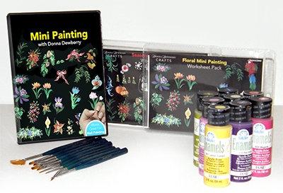 Mini painting Kit