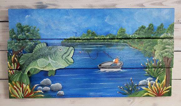 Gone Fishing - Bass