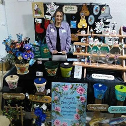 Had a blast at my first Craft Show 😆_Me
