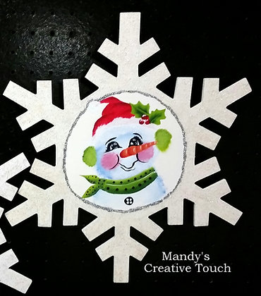 Outdoor Snowman Snowflake- Only 1