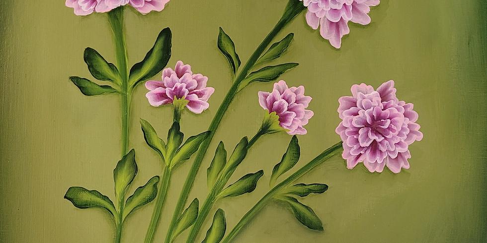 #5 Carnations Practice & Paint