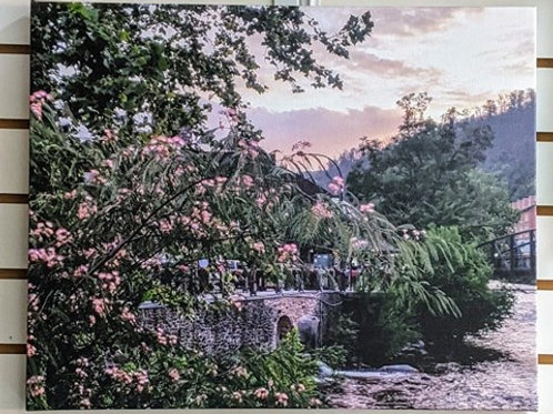 """Photography on Canvas """"Gatlinburg in the Spring"""""""