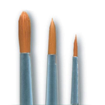 3 pc Round Brush Set