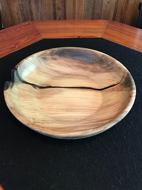 Turned Large Magnolia Bowl by Steve Achee