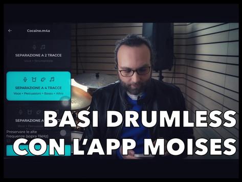 COME RIMUOVERE la batteria da una canzone, con l'app MOISES