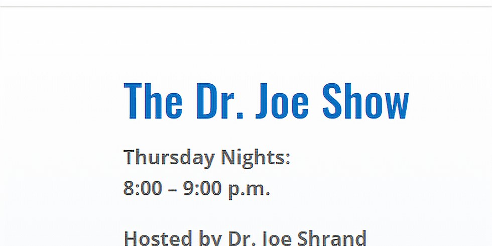 Interview on Dr. Joe Show