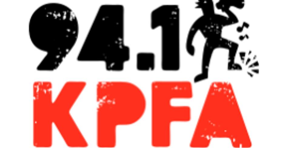 Interview on KPFA Radio - Berkeley, CA