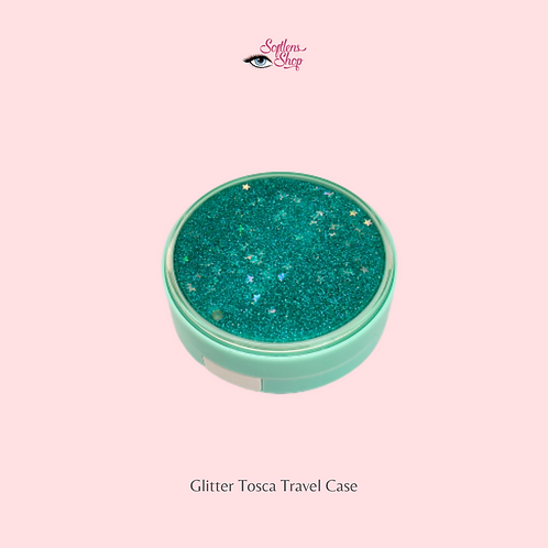 GLITTER TOSCA CONTACT LENS TRAVEL CASE