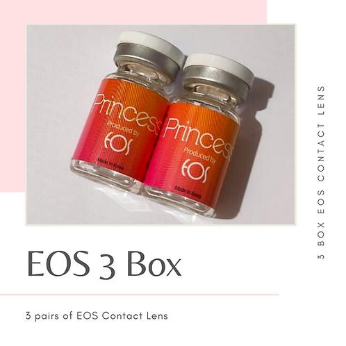 EOS CONTACT LENS 3 BOX VALUE SET