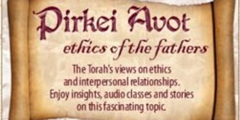 Jewish Adult Education: Pirkei Avot