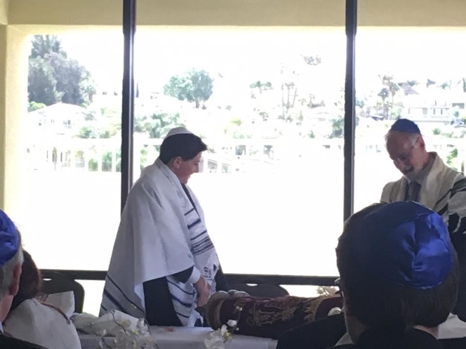 Officiating Bar Mitzvah