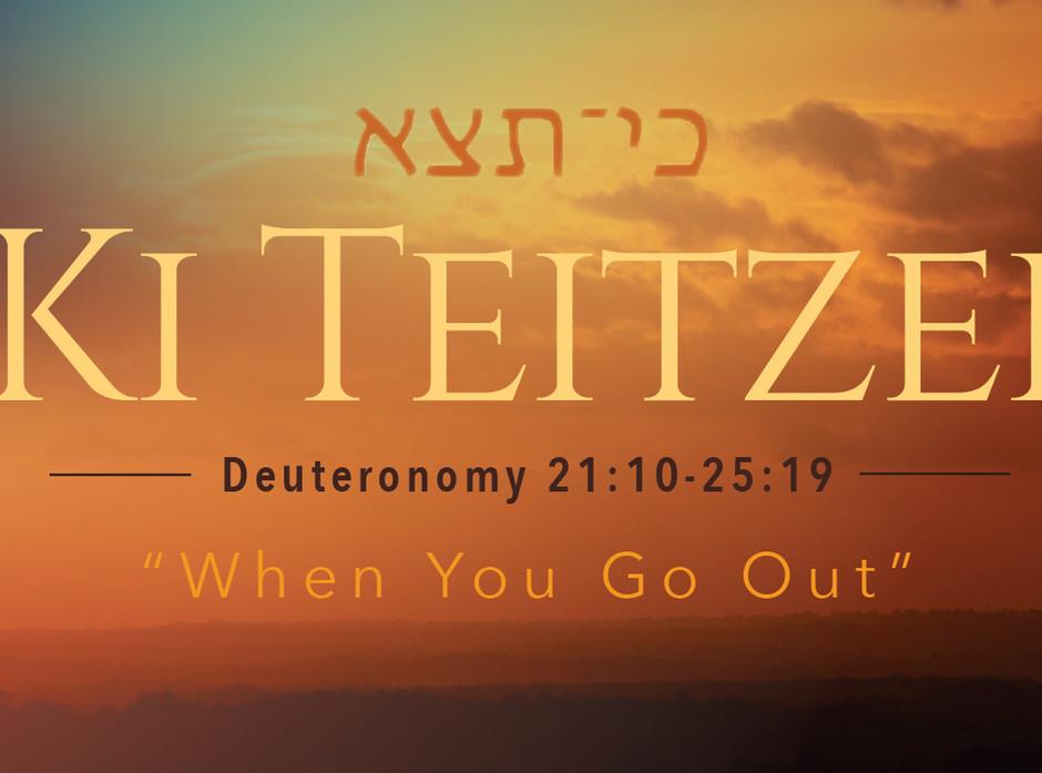 "This week's 10-Minute Torah (August 29, 2020): ""Parashat Ki Teitzei"" 5780"