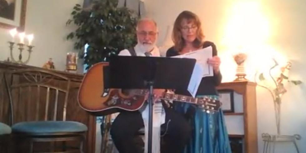 Live Stream Friday Evening Shabbat Ma'ariv Services  שבת מערב
