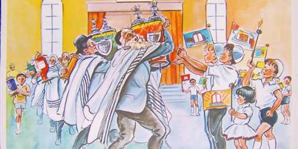 Shachrit Simchat Torah / שִׂמְחַת תּוֹרָה Services>