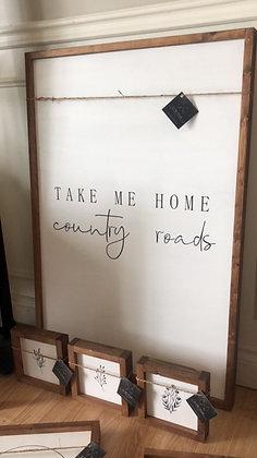 """Take Me Home, Country Roads"""