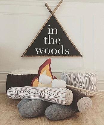 Fabric Campfire Set