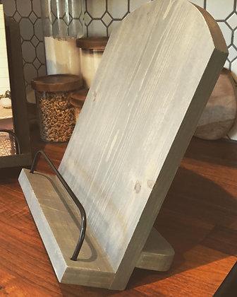 Rustic Cookbook Stand