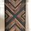 Thumbnail: Black & Walnut Mosaic Wall Art/Headboard