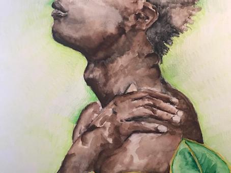 """Feuilles,"" Artwork by Shereene Fogenay"