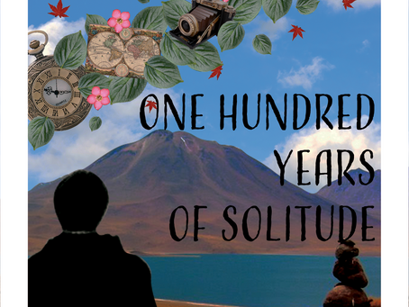 """A Hundred Years of Solitude,"" Artwork by Mary Silva"