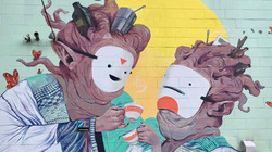 Artists - Allison Woodward and Graeme Mc