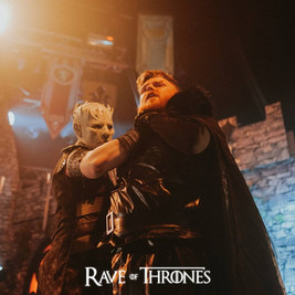 On stage fight sequence with Night King and Nights Watchmen