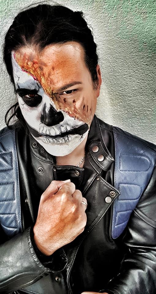 Halloween makeup basic