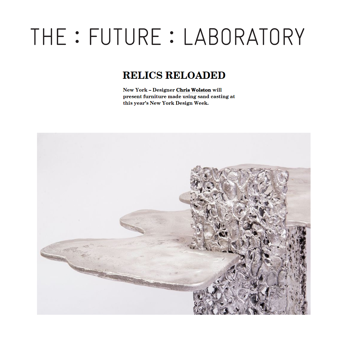 The future laboratory