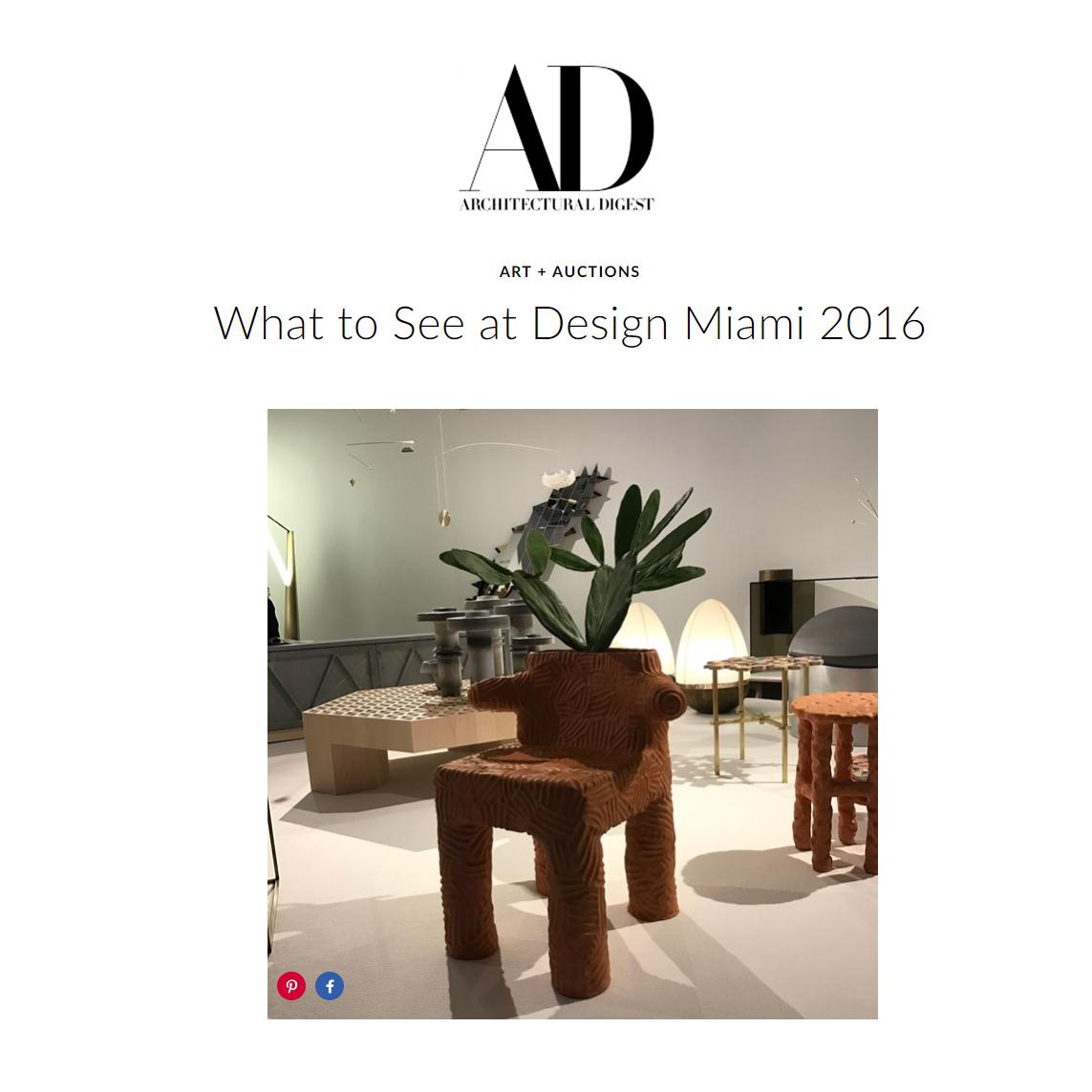 Architectural Digest 2016