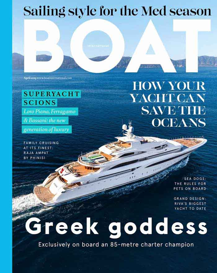 Boat Magazine Cover