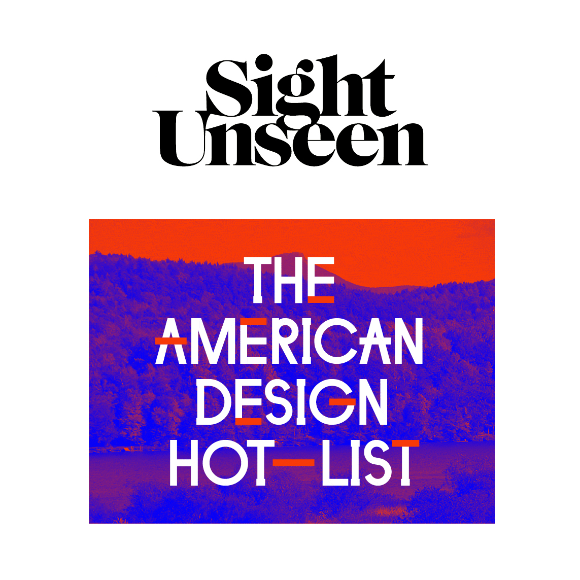 sight unseen american hot list
