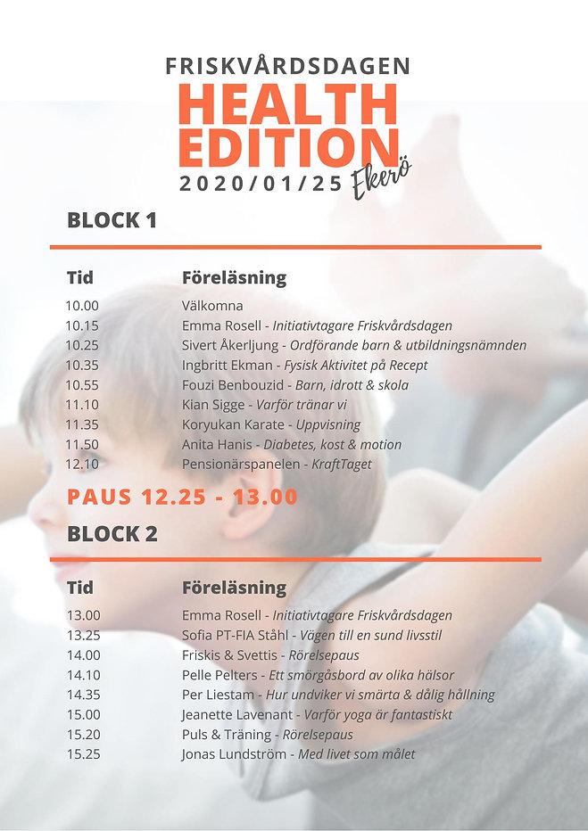 program friskvårdsdagen