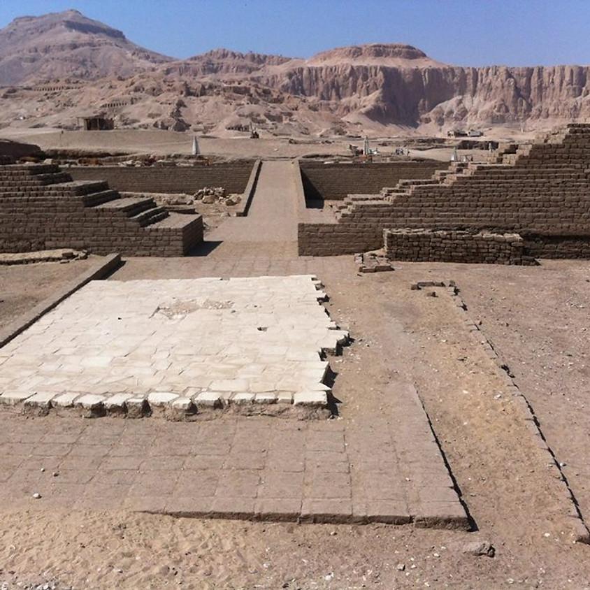 Progrès et nouveautés dans les fouilles du Temple des Millions d'Années de Touthmosis III