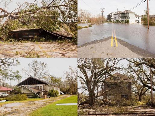 À la suite de l'Ouragan Laura, des communautés dévastées commencent à se reconstruire