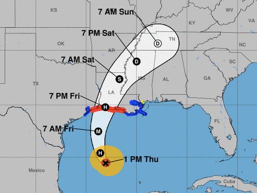 Les résidents de la ville de Delcambre doivent s'évacuer, l'ouragan Delta touchera terre vendredi