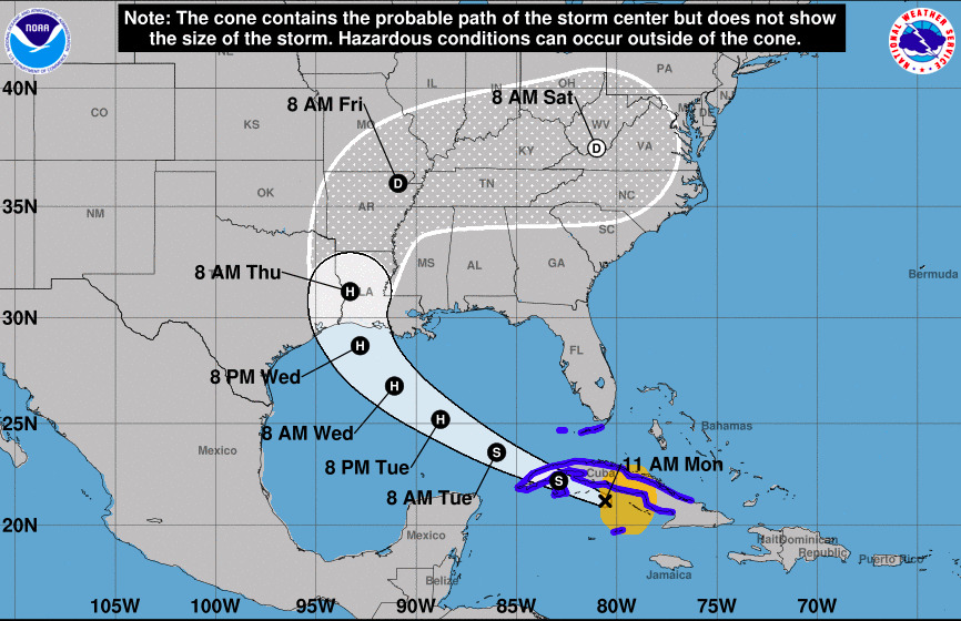 hurricane, tropical storm, Gulf of Mexico