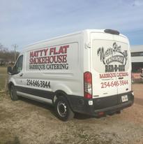 Catering Van Left Oblique
