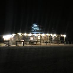 Natty Flat Smokehouse at Night