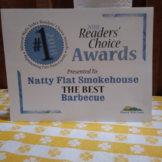 Readers Choice Awards THE BEST Barbecue