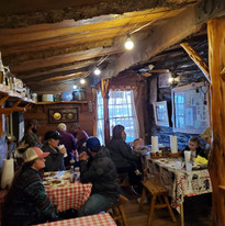 People Eating Indoors