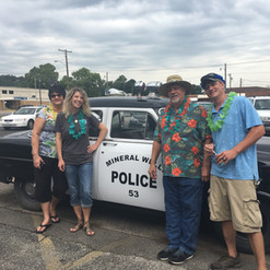 Mineral Wells Old Fashioned Police Car