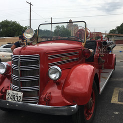 Old Fashioned Fire Truck - Engine