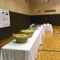 Food on Tables