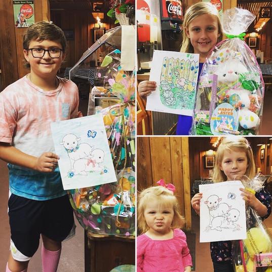 Kids Showing Their Art Work