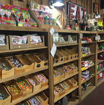 Merchandise Candy Shelves