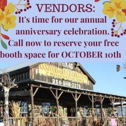 Vendors 19th Annual Anniversary Celebrat