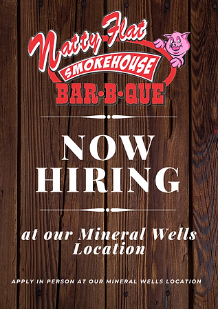 We Are Hiring at Mineral Wells